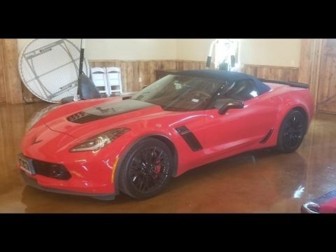 Torch Red 2016 Chevrolet Corvette Z06 Convertible