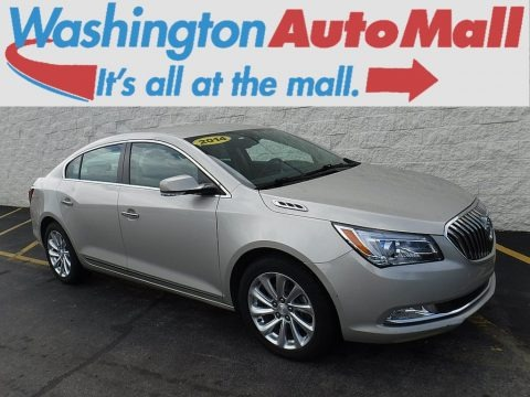 Champagne Silver Metallic 2014 Buick LaCrosse Leather