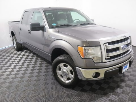 Sterling Grey 2014 Ford F150 XLT SuperCrew 4x4