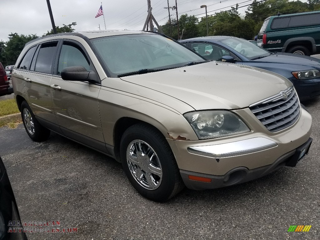 2005 Pacifica Touring AWD - Linen Gold Metallic Pearl / Light Taupe photo #1