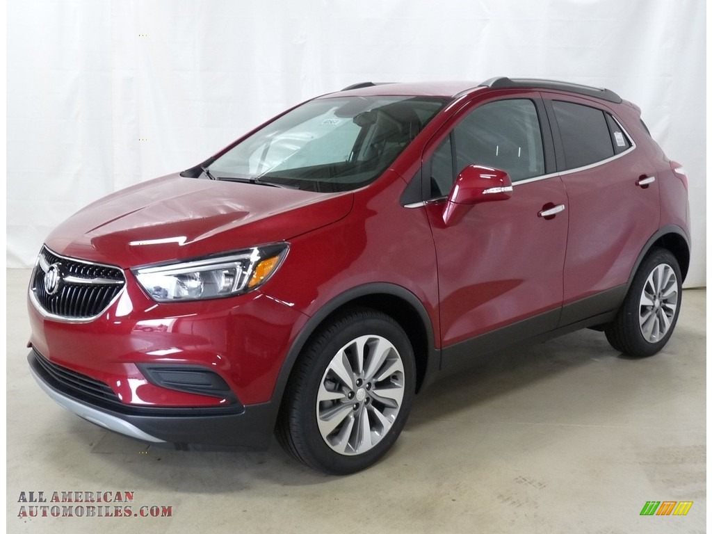 Winterberry Red Metallic / Ebony Buick Encore Preferred