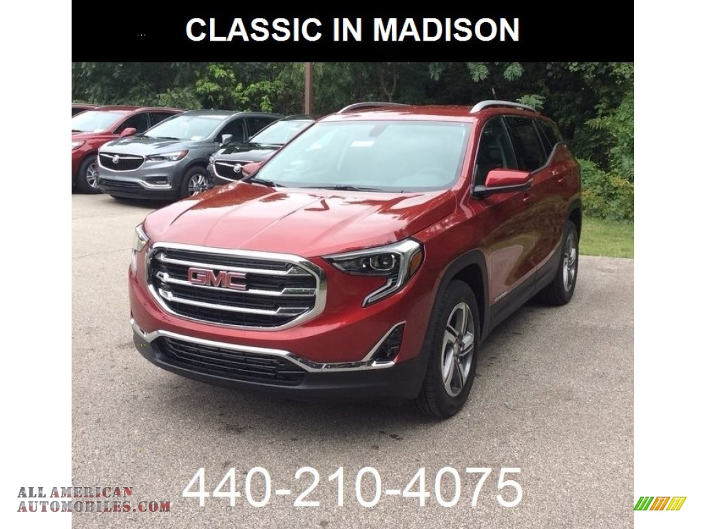 2019 Terrain SLT AWD - Red Quartz Tintcoat / Jet Black photo #1