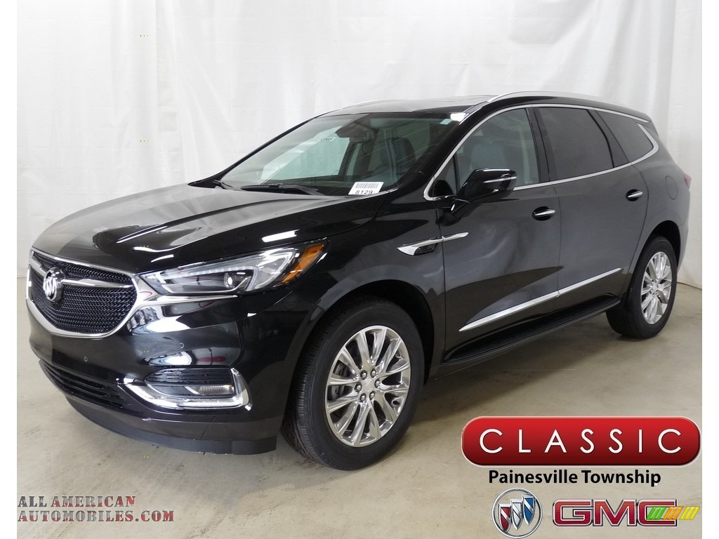 Ebony Twilight Metallic / Dark Galvanized/Ebony Accents Buick Enclave Premium AWD