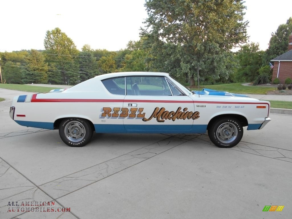 1970 Rebel Machine - Red/White/Blue / Black photo #1