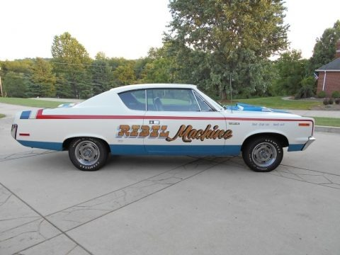 Red/White/Blue 1970 AMC Rebel Machine
