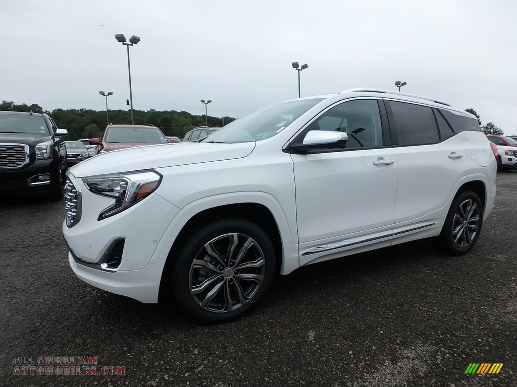 Summit White / Jet Black GMC Terrain Denali AWD