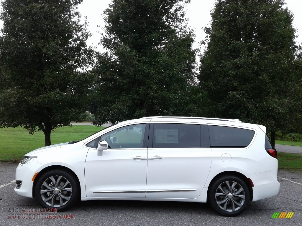 2019 Pacifica Limited - Bright White / Deep Mocha/Black photo #1