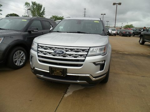 Ingot Silver 2018 Ford Explorer Limited 4WD