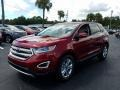 Ford Edge SEL Ruby Red photo #1