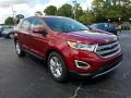 Ford Edge SEL Ruby Red photo #9