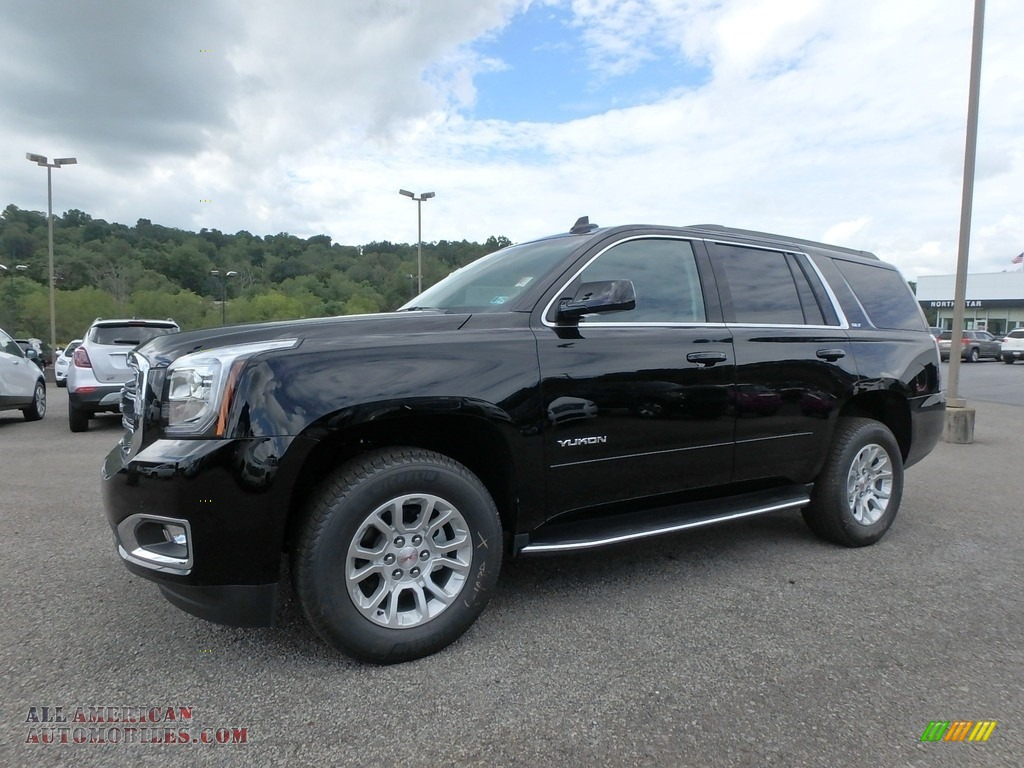 2019 Yukon SLT 4WD - Onyx Black / Jet Black photo #1
