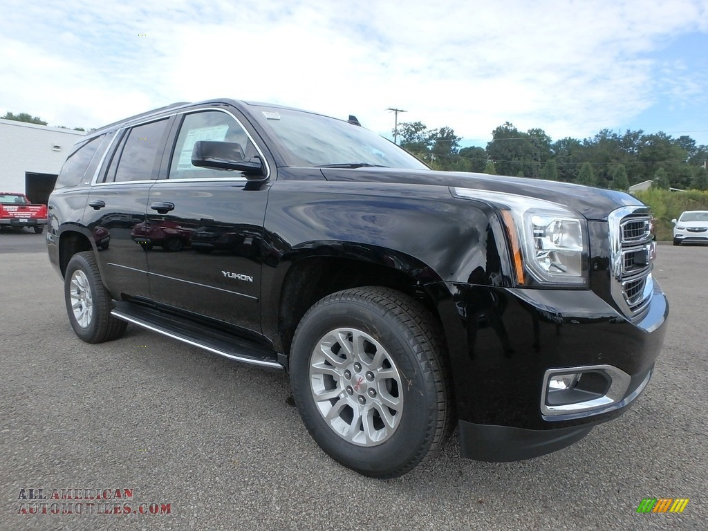 2019 Yukon SLT 4WD - Onyx Black / Jet Black photo #3
