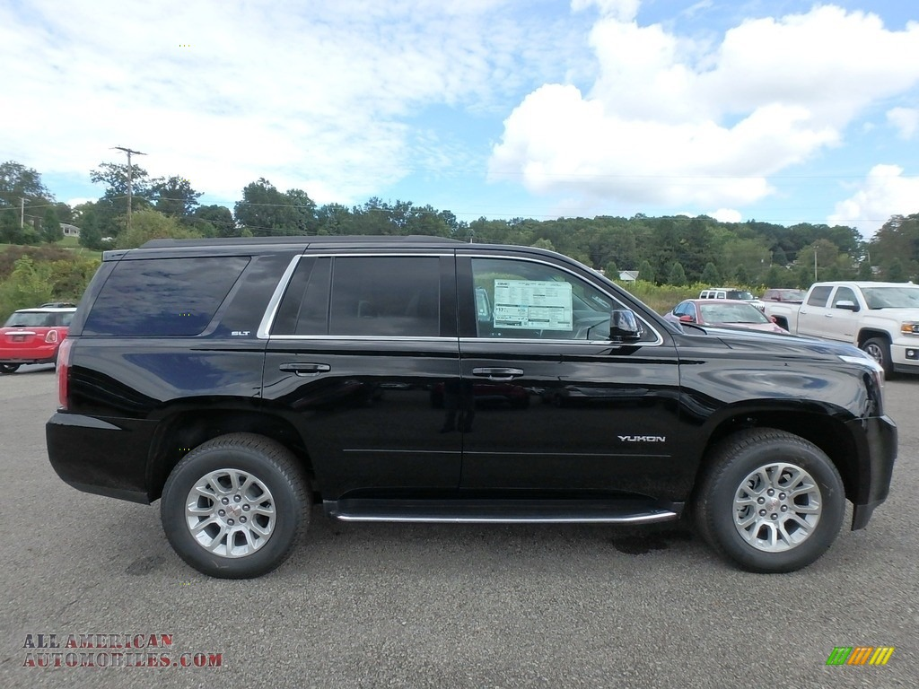 2019 Yukon SLT 4WD - Onyx Black / Jet Black photo #4