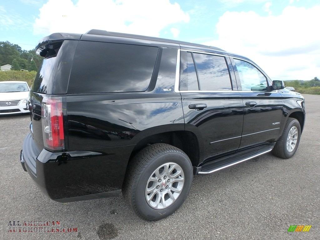 2019 Yukon SLT 4WD - Onyx Black / Jet Black photo #5