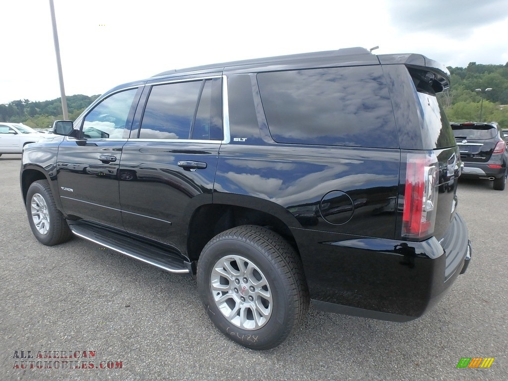 2019 Yukon SLT 4WD - Onyx Black / Jet Black photo #8