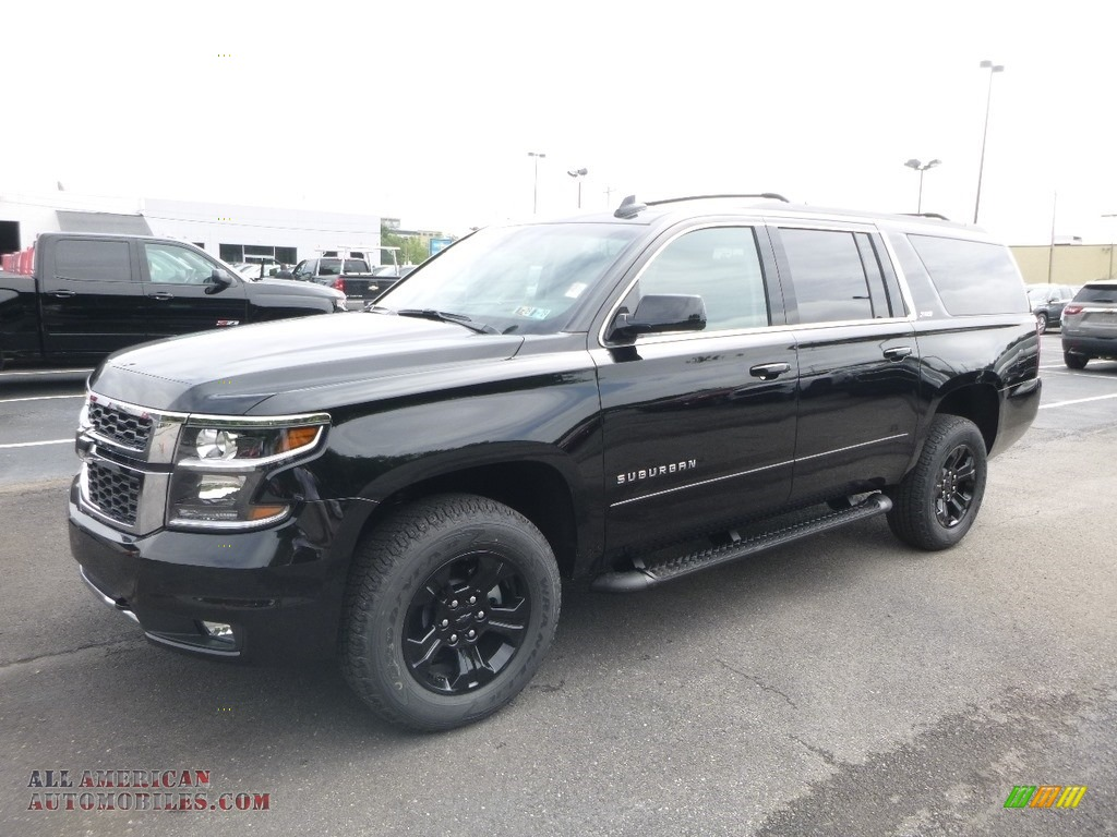 2019 Suburban LT 4WD - Black / Jet Black photo #1