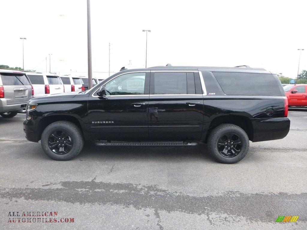 2019 Suburban LT 4WD - Black / Jet Black photo #2