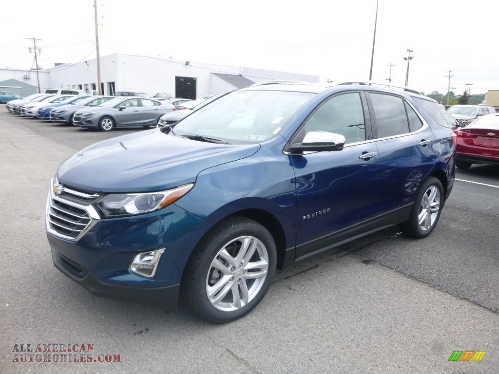 2019 Equinox Premier AWD - Pacific Blue Metallic / Medium Ash Gray photo #1