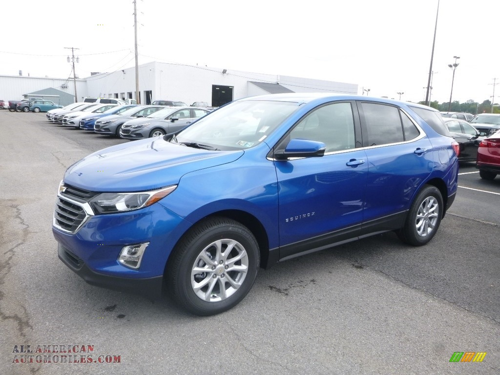 2019 Equinox LT AWD - Kinetic Blue Metallic / Jet Black photo #1
