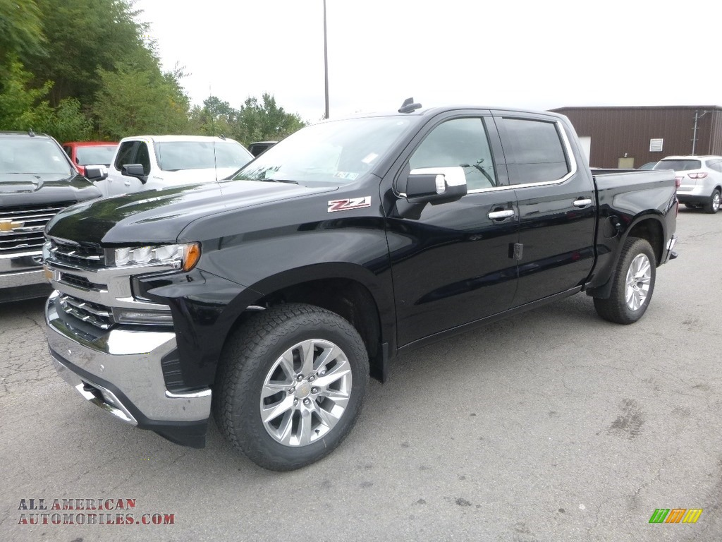 2019 Silverado 1500 LTZ Crew Cab 4WD - Black / Jet Black photo #1