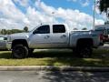 Chevrolet Silverado 1500 LT Crew Cab 4x4 Silver Ice Metallic photo #2