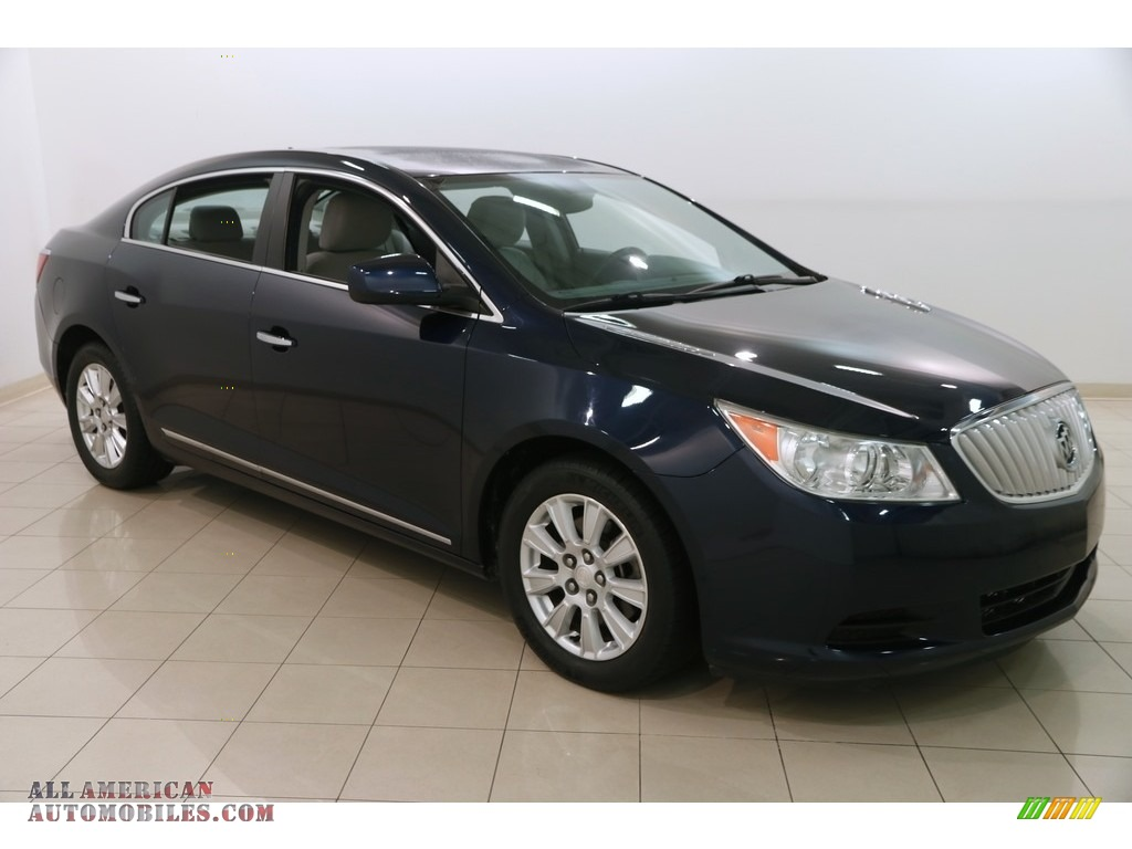 Midnight Blue Metallic / Dark Titanium/Light Titanium Buick LaCrosse CX