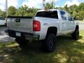 Chevrolet Silverado 1500 LT Crew Cab 4x4 Silver Ice Metallic photo #5