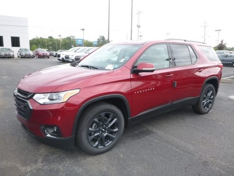 Cajun Red Tintcoat 2019 Chevrolet Traverse LT AWD