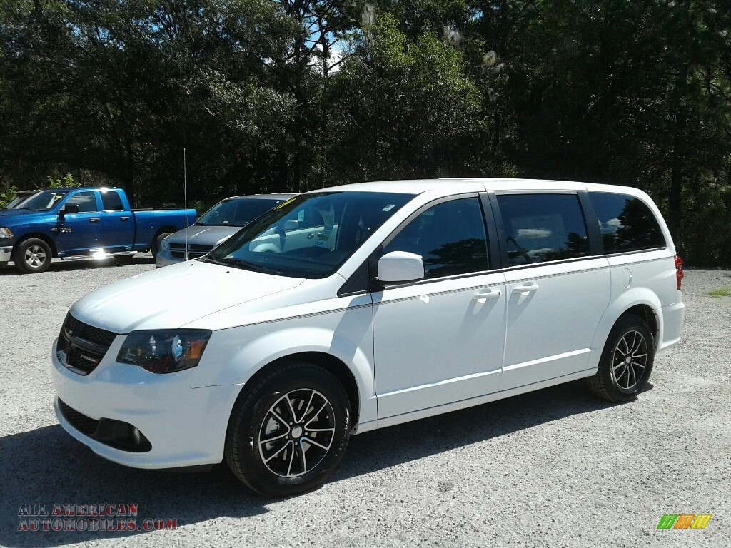 White Knuckle / Black Dodge Grand Caravan SXT