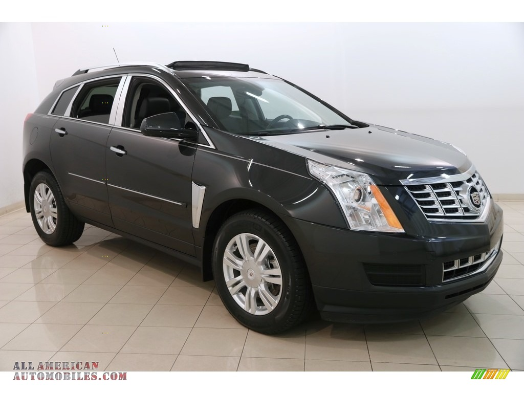 2015 SRX Luxury - Graphite Metallic / Ebony/Ebony photo #1
