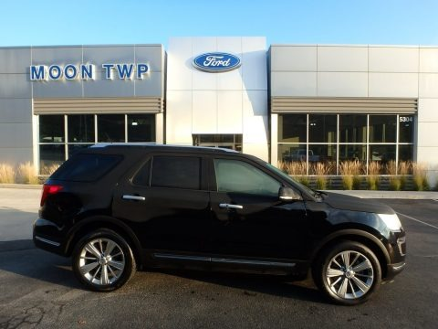 Shadow Black 2018 Ford Explorer Limited 4WD