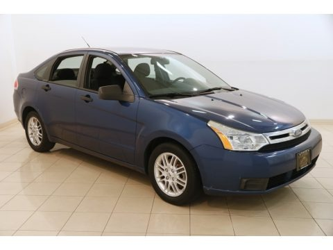 Vista Blue Metallic 2009 Ford Focus SE Sedan