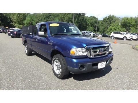 Vista Blue Metallic 2009 Ford Ranger XLT SuperCab