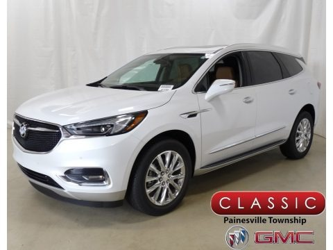 White Frost Tricoat 2019 Buick Enclave Premium AWD