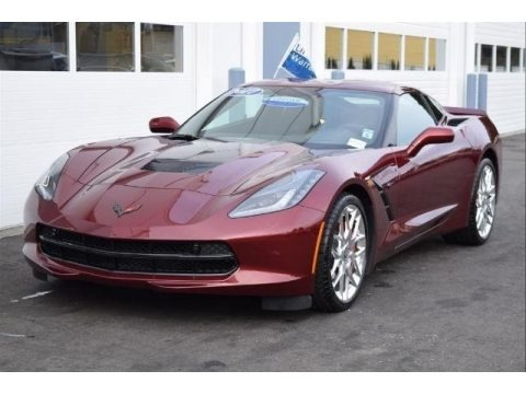 Long Beach Red Metallic Tintcoat 2017 Chevrolet Corvette Stingray Coupe
