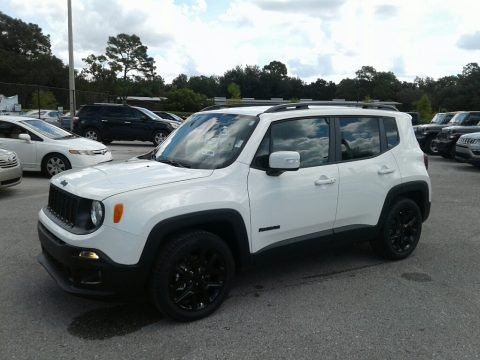 Alpine White 2018 Jeep Renegade Altitude