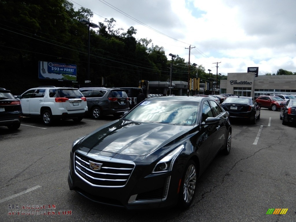Phantom Gray Metallic / Jet Black/Jet Black Cadillac CTS 2.0T Luxury AWD Sedan