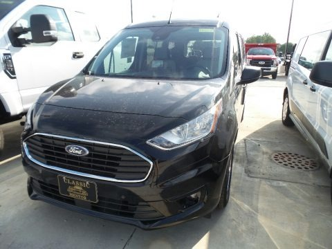 Shadow Black 2019 Ford Transit Connect XLT Passenger Wagon