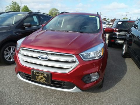 Ruby Red 2018 Ford Escape SE