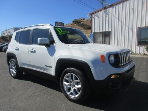 Alpine White 2017 Jeep Renegade Latitude