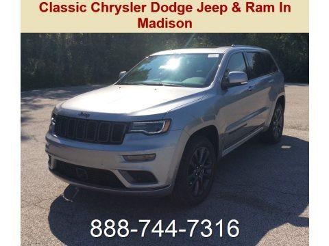Billet Silver Metallic 2019 Jeep Grand Cherokee High Altitude 4x4