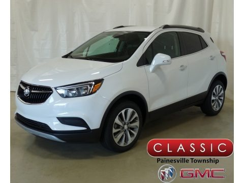 Summit White 2019 Buick Encore Preferred AWD
