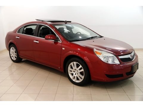 Red Jewel Tintcoat 2009 Saturn Aura XR
