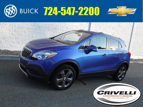 Brilliant Blue Metallic 2014 Buick Encore AWD