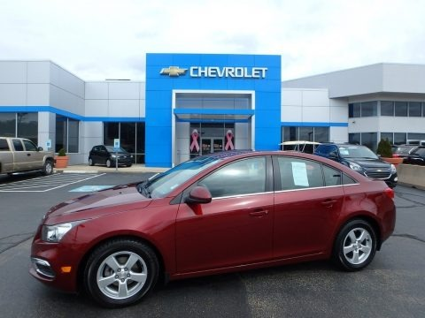 Siren Red Tintcoat 2016 Chevrolet Cruze Limited LT