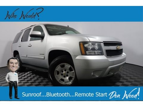Sheer Silver Metallic 2010 Chevrolet Tahoe LT 4x4
