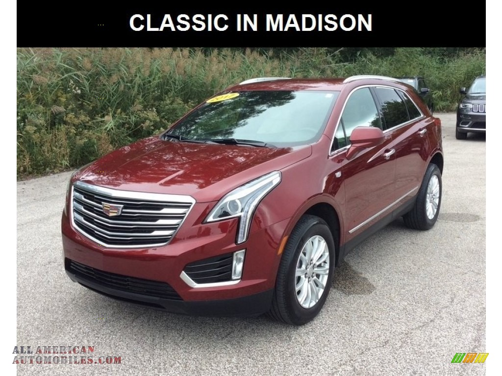 2017 XT5 FWD - Red Passion Tintcoat / Sahara Beige photo #1