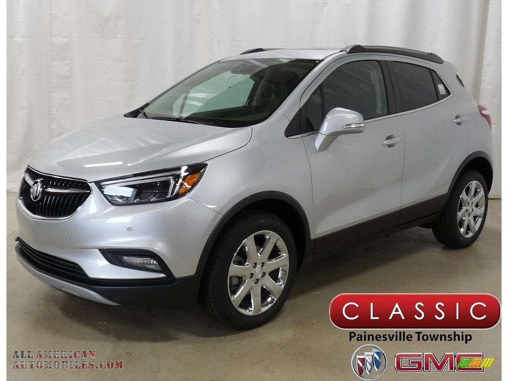 Quicksilver Metallic / Ebony Buick Encore Essence AWD