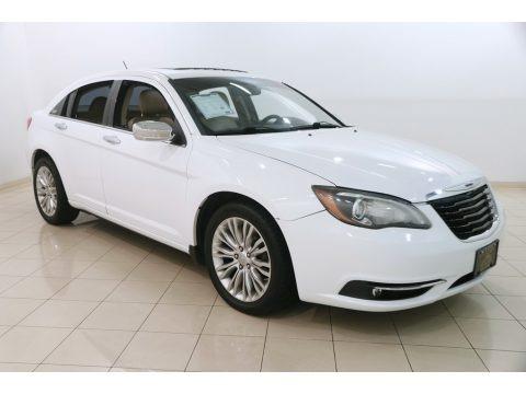 Bright White 2012 Chrysler 200 Limited Sedan