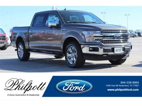 Stone Gray 2018 Ford F150 Lariat SuperCrew 4x4